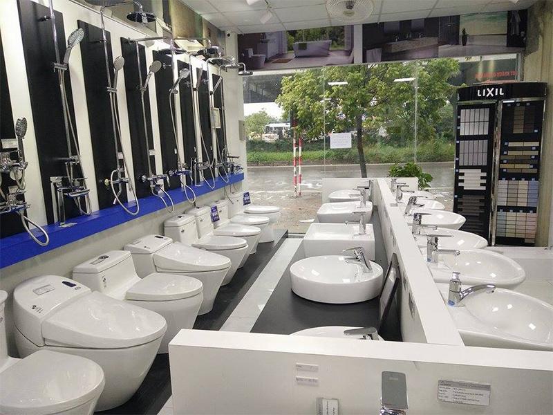 Đại lý thiết bị vệ sinh INAX chính hãng, uy tín tại Hải Phòng