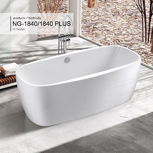 Bồn tắm đặt sàn Nofer NG-1840 PLUS