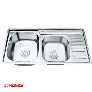 Chậu rửa bát Inox Picenza PZ9 9245