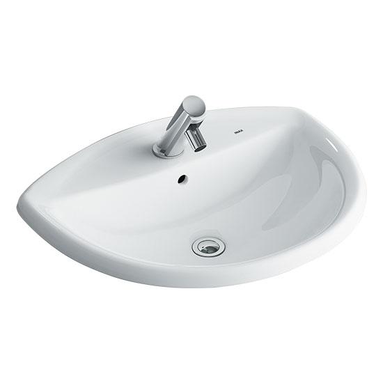 Chậu rửa mặt lavabo INAX L-2396V