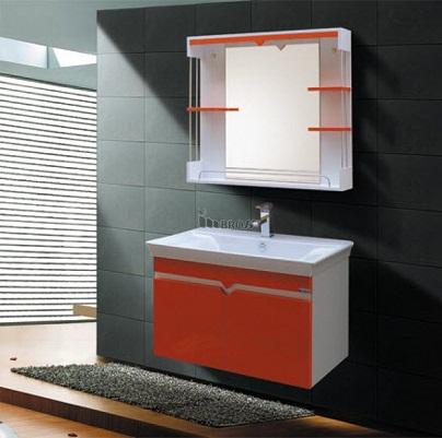 Bộ tủ chậu nhựa PVC Bross 785