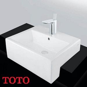 Chậu rửa bán âm bàn TOTO LW647CJW/F