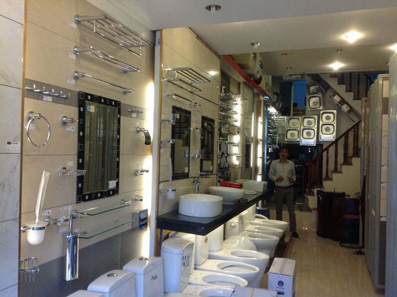 cửa hàng thiết bị vệ sinh Hải phòng