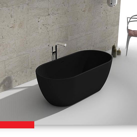 Bồn tắm ngâm Euroking EU-6024 Black