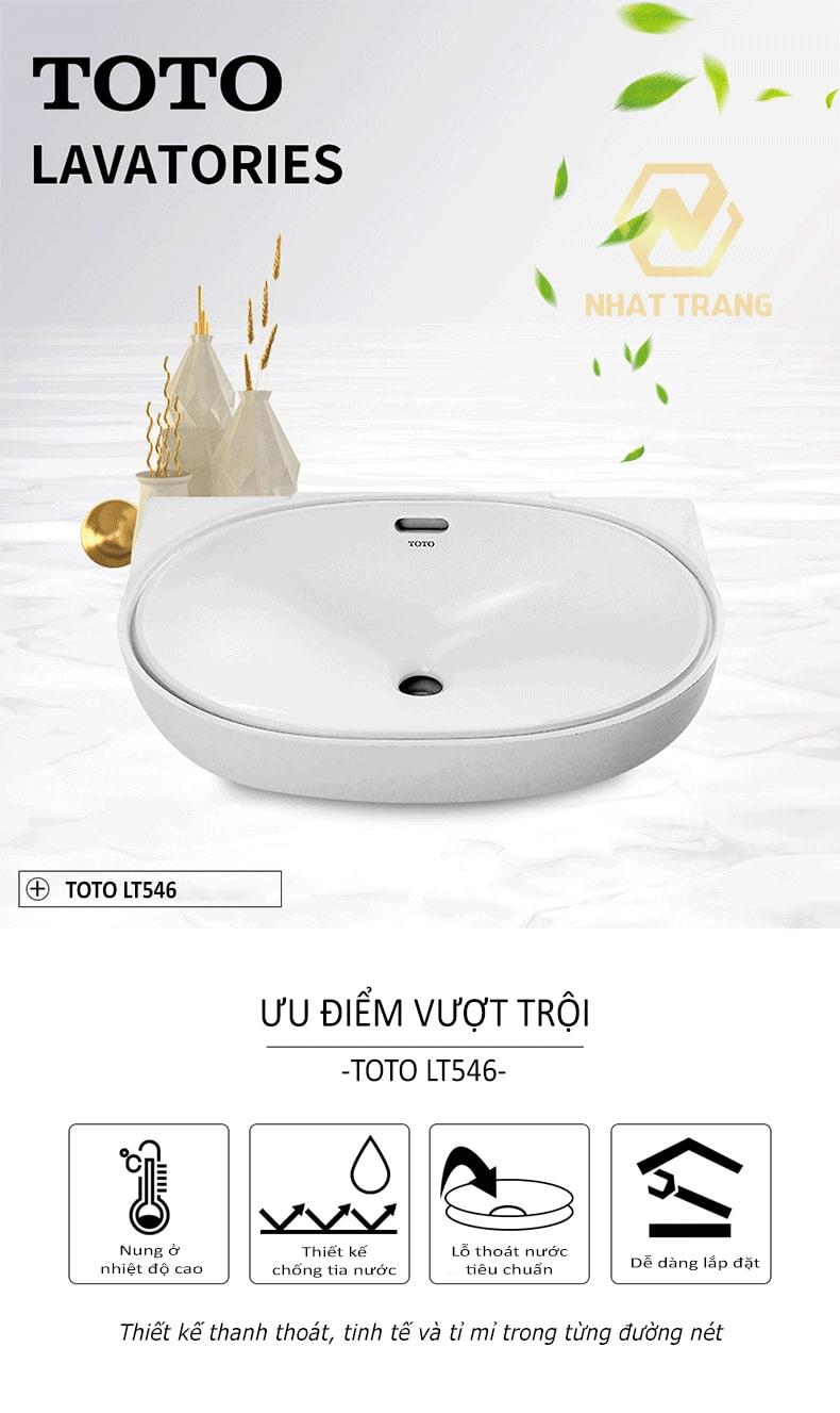 lavabo toto lt546