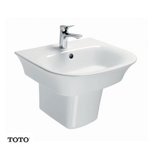 Chậu rửa mặt TOTO LW196K/LW196HFK