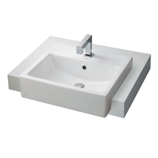 Chậu rửa lavabo TOTO LW717RCB