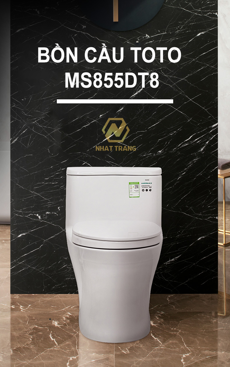 bồn cầu toto ms855