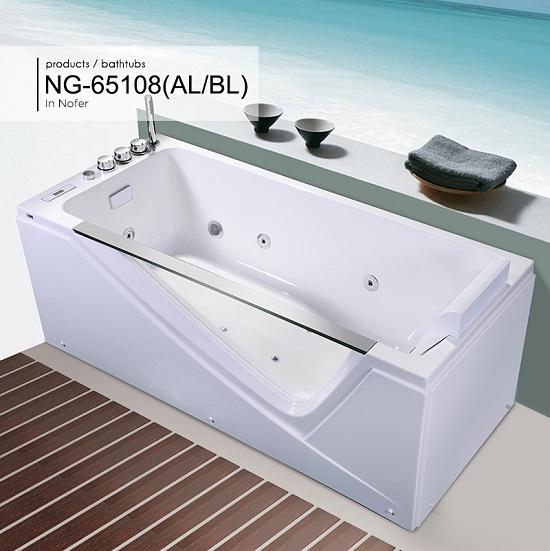 Bồn tắm massage Nofer NG-65108 (AL/BL)
