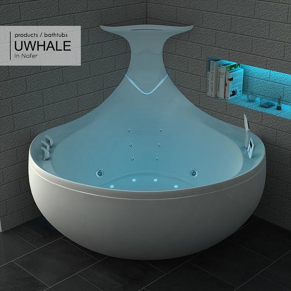 Bồn tắm massage Nofer UWHALE