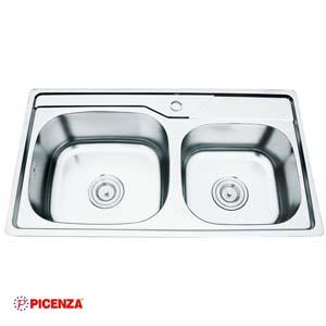 Chậu rửa bát Inox Picenza PZ9 8044
