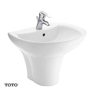 Chậu rửa lavabo TOTO LT942CK/PT942HFK