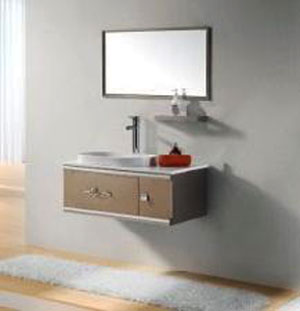 Bộ tủ chậu inox Bross S-0905