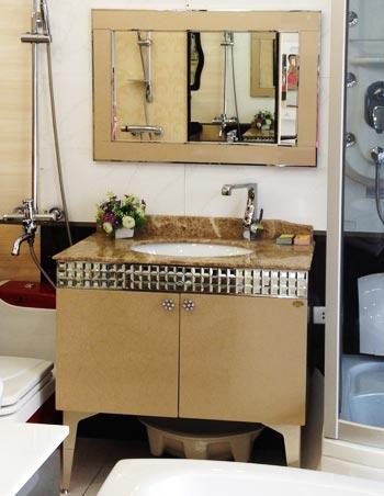 Bộ tủ chậu inox Bross SY-802