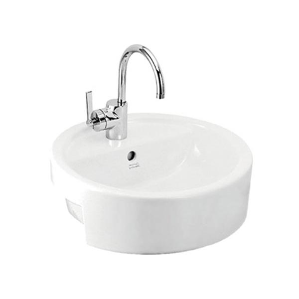 Chậu lavabo đặt nửa bàn American Stadard WP-F307