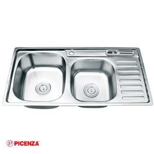 Chậu rửa bát Inox Picenza PZ9 9245B