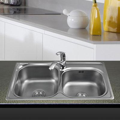 Chậu rửa Inox Sơn Hà SH 2H-680