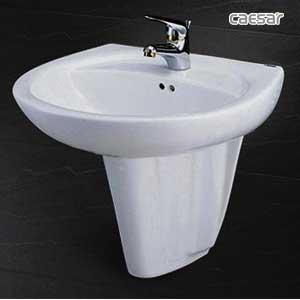 Chậu rửa chân lửng Caesar L2220 + P2436