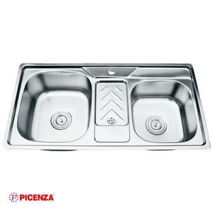 Chậu rửa bát Inox Picenza PZ9 9046