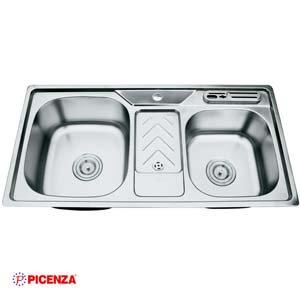 Chậu rửa bát Inox Picenza PZ9 9046B