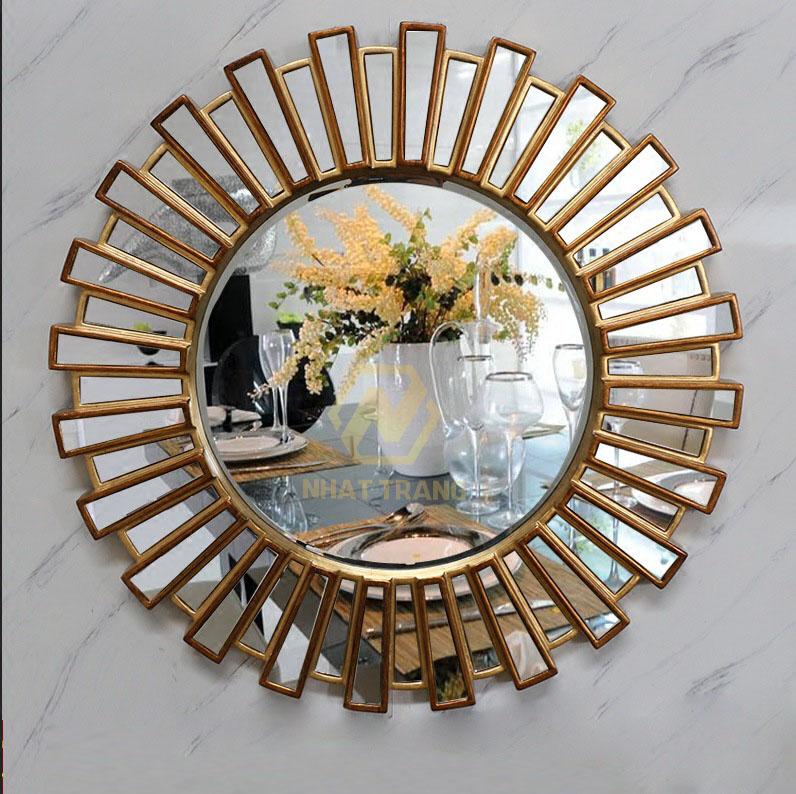 gương trang trí hiện đại Milor Athena
