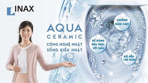 Công nghệ bề mặt sứ Aqua Ceramic