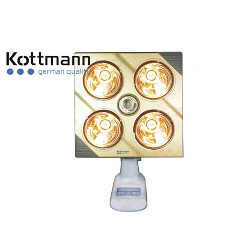 Đèn sưởi 4 bóng treo tường Kottmann – K4BG