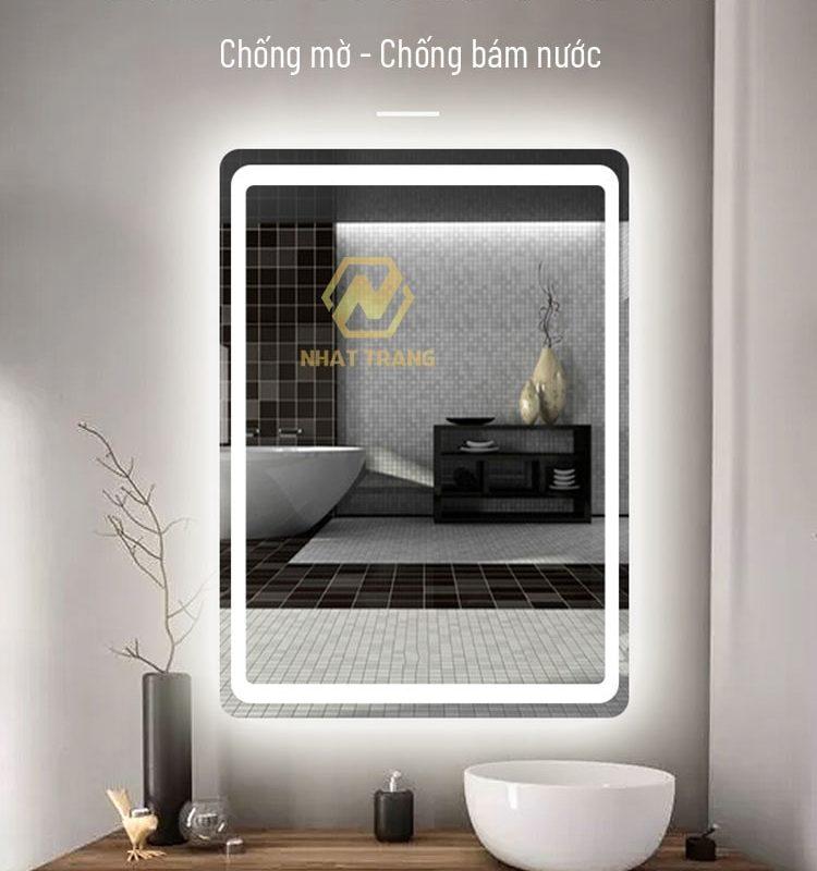 gương đèn led nhà vệ sinh Milor ML6002D