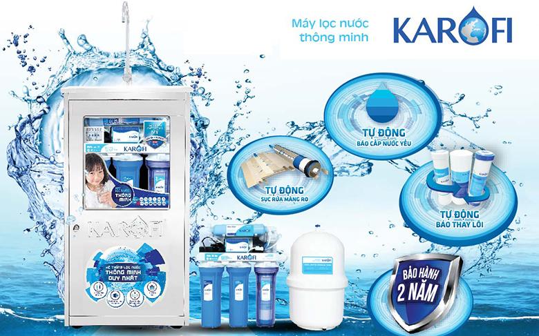 máy lọc nước Karofi Hải Phòng